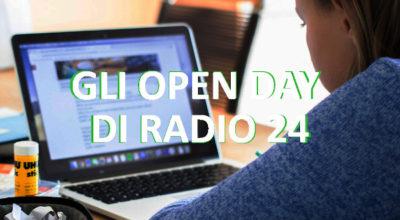 Gli Open day di Radio24 – come scegliere le superiori